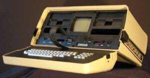 ős-laptop: Osborne 01 hordozható számítógép